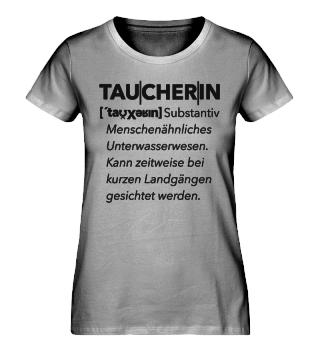 Taucherin