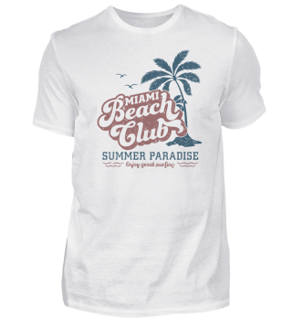 Miami Beach Club - Organic Shirt