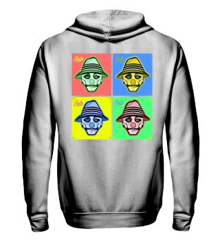 Herren Zip Hoodie Sweatshirt Vato Ramirez