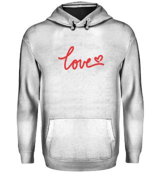 Love / Liebe - T Shirt Print