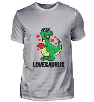 Valentine's Day T-Rex Dino love sweet he