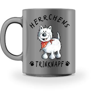 Herrchen Trinknapf West Highland Terrier