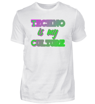 Techno Culture Slogan | Rave Raver Tranc