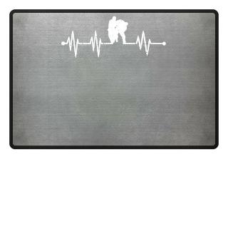 Heartbeat Jiu Jitsu Shirt Jui Martial Ar