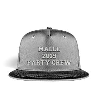 Malle 2019 Party Crew Snapback Mütze