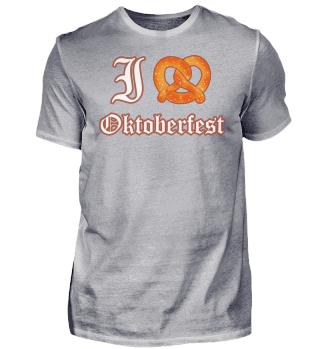 I love Oktoberfest - Brezel