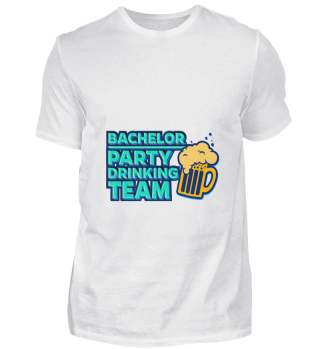 D001-0075A JGA Bachelor Party Drinking T