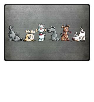 Happy Hunde - Dog - Dogs - Hund
