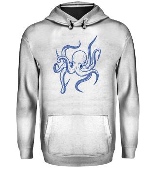 Oktopus Kraken Sealife Gift Geschenk