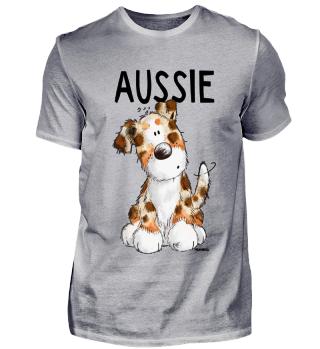 Happy Aussie I Australian Shepherd Hund