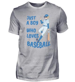 Baseball Boy love spell sports gift