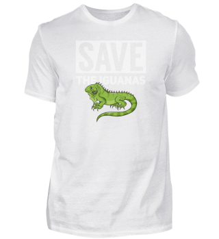 Iguana Reptile Gift Lizard Hunter