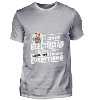 D001-0313A Proud Electrician Elektriker