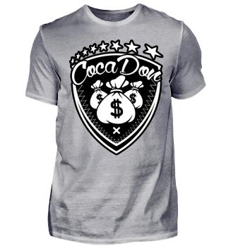 Herren Kurzarm T-Shirt Coca Don Ramirez