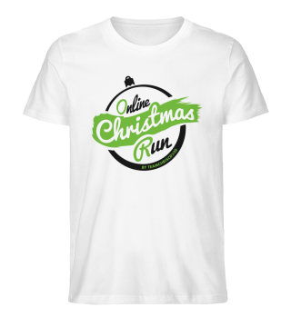 Online Christmas Run T-Shirt BIO