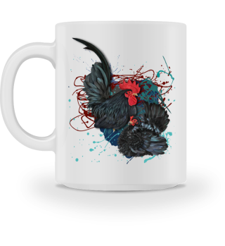 Chabo schwrz 1,1 Natur becher mug