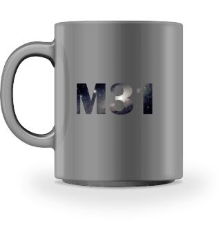 Kaffeetasse M31 - für Astronomen!