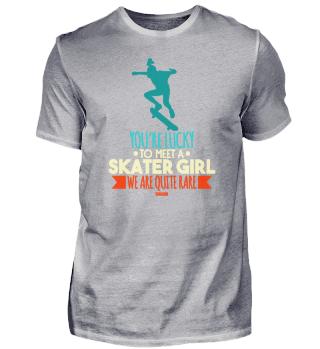 Ollie athletic girl Skateboard