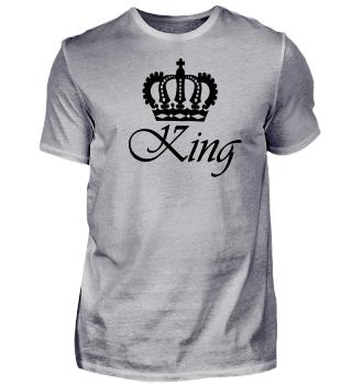 King / König Design in Schwarz