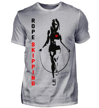 Fitness Seilspringen rope skipping