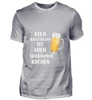 D010-0358A Bier kaltstellen ist wie koch
