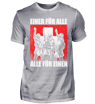 Rütli Schwur Schweiz Einer Für Alle 1291
