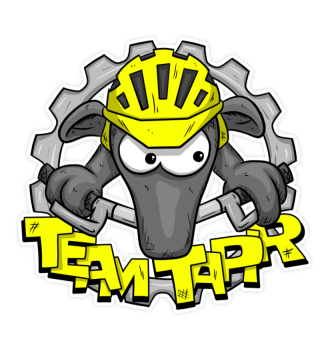 MTB Team Tapir Mountainbiker Sticker