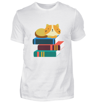 Cat books lover