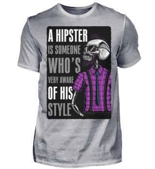 A Hipster Ramirez Herren T-Shirt Kurzarm