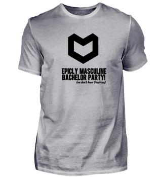 epic masculine bachelor party black