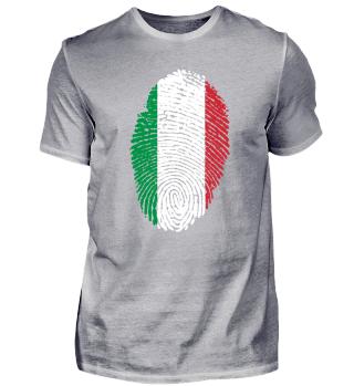 Fingerabdruck - Fingerprint - Italien