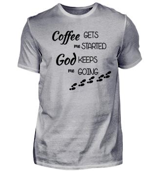 Jesus christlich Gott Kaffee Glaube