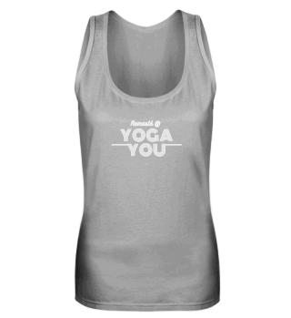 Basis Dames Tank Top Namasté @ Yoga You