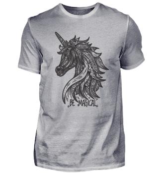 Mandala Pferd Einhorn
