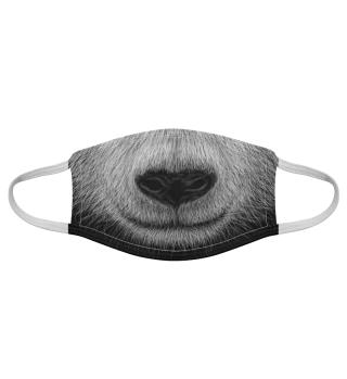 Panda Schnauze Pandabär Maske