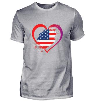Liebe zu USA