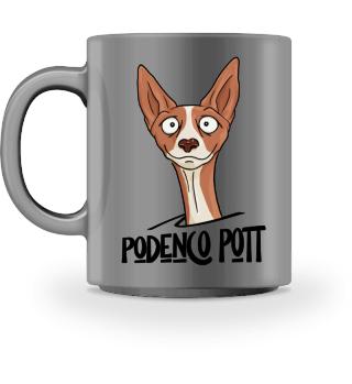 Podenco Pott Pharaonen-Hund Tasse