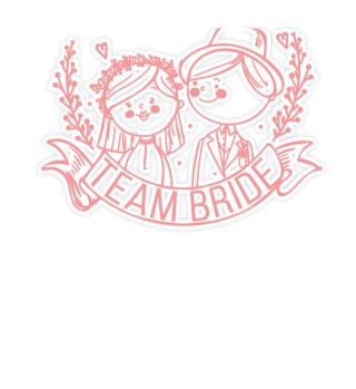 Team Braut Hochzeit Junggesellinnenabsch