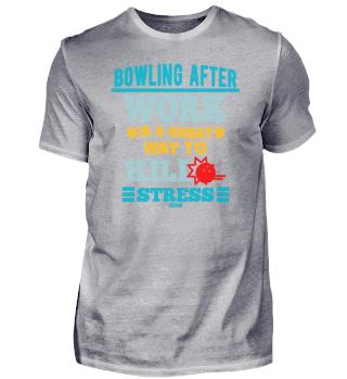 Bowling Feierabend Stress Bowlingkugel