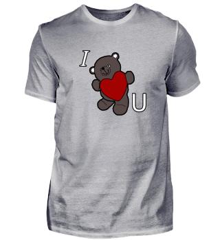 I Love You Teddybär
