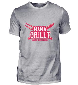 Mama Grills noch besser Retro BBQ Grille