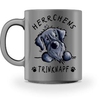 Herrchens Trinknapf Schnauzer Tasse