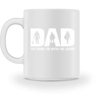 Vater Papa Wikinger Viking Tasse