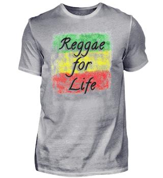 UK Reggae for Life Rasta Flag + Gift
