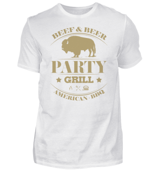 ☛Partygrill · American BBQ #4G