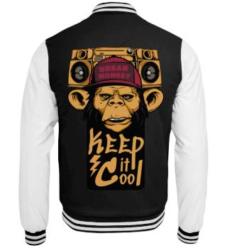Herren College Jacke Urban Monkey Ramirez
