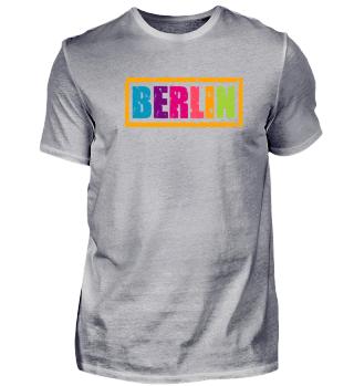 Berlin Bunt Logo Shirt Berliner Geschenk