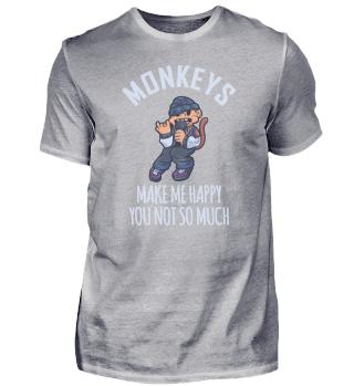 Rap music cool monkey chimp