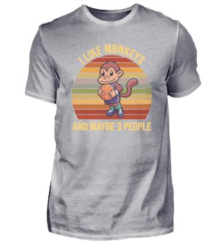 Basketball Chimpanzee Monkey Sports