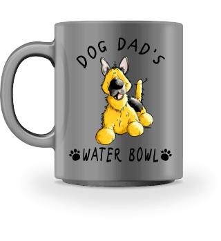 german Shepherd Dog Dad's Bowl I Mug
